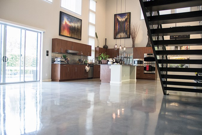 Maintaining High Traffic Polished Concrete Floors